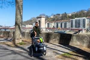 Carry'Box Kid d'AddBike - Transport d'enfant